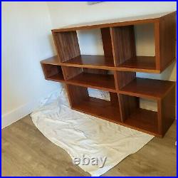 3-tier open wooden Home Office Display Unit Bookcase Shelving