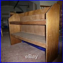 6 Wooden shelving units Cabinet Retail display Book Shleves Free standing
