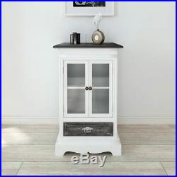 Cabinet Storage with Doors Drawers Shelf Cupboard Standing Units Wooden