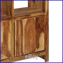 Classic Bookcase Traditional Wooden Cube Display Decor Shelves Cabinet Storage