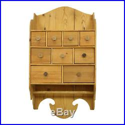 Classic Wooden wall Shelves with Drawers