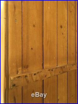 French Country Style Large Wooden Bookcase