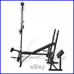 Home Training Weight Bench Lifting Multi Station Exercise Muscles Body Fitness