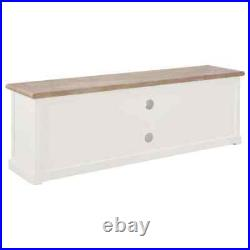 Modern TV Cabinet Stand Unit Wooden Media Storage Space Shelves With Doors Drawer