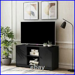 Modern Unit Wooden TV Cabinet Stand Unit Table With Shelves Cupboard Furniture