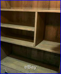 NEW- Designer Tall Wooden Display Bookcase Shelving Unit rrp £699