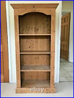 Quality SOLID PINE BOOKCASE Furniture Cabinet Cupboard Wooden Shelves Book