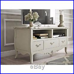 Chic tv stands Glam Tv Shabby Chic Tv Stand Unit Furniture Vintage Wooden Cabinet Drawers Shelves Botscamp Shabby Chic Tv Stand Unit Furniture Vintage Wooden Cabinet Drawers