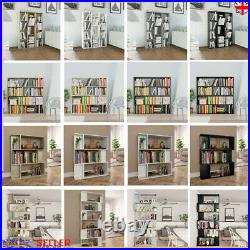 Tall Wide Wooden Cube Bookcase Shelving Display Storage Unit Cabinet Shelves UK