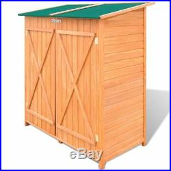 Tool Storage Garden Sheds Cabinet Box Unit Shed Shelves Parts Wooden Toolbox New