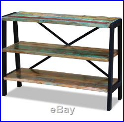 Vintage Industrial Sideboard Rustic Shelving Unit Console Table Buffet Furniture