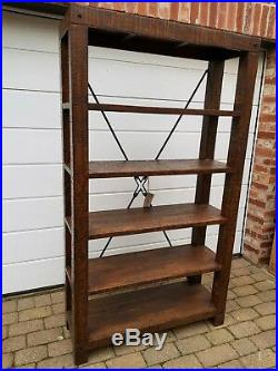 Willis & Gambier Clifton Industrial Rustic Reclaimed Wooden Shelving Unit