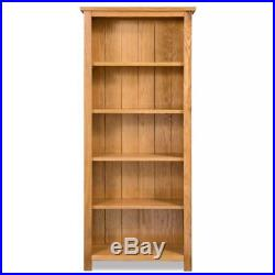 Wooden Bookcase Book Shelf Cabinet Display Unit with 3/5/6 Shelves Multi Sizes