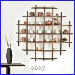 Wooden Floating Shelf Shelves Kit Wall Mounted Display Unit Home Office Bedroom