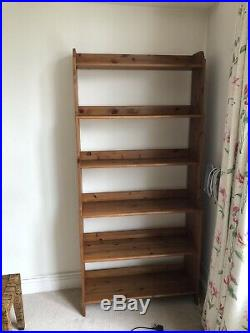 Wooden Library Book Shelf Made By OKA. Fantastic Quality