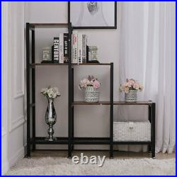 Wooden Storage Unit Cube 3 Tier Strong Bookcase Shelving Home Office Display