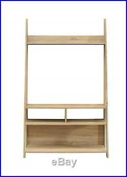 Wooden TV Stand Nordic Style Media Center Cabinet Storage Open Shelving Unit NEW
